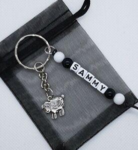 Personalised Sheep Keyring, sheep gifts, sheep lover, farm gifts