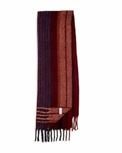 Paul Smith Wool Blend Sileno Striped Scarf Red Multicolor-OS