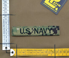 "Ricamata / Embroidered Patch ""U.S. NAVY"" NWU III / AOR 2 with VELCRO® brand hook"