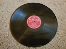 Walter Thomas Ben Webster Blues on the Delta Broke But Happy 78 RPM Joe Davis