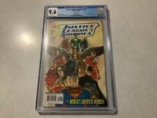 Justice League of America # 12 Turner variant cover CGC 9.6 Nm+