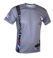 BMW- The ultimate driving machine- men`s polyester t-shirt