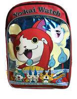 NEW Yoke Yo-Kai Watch Friends Jibanyan Kid's Zipper Backpack School Book Bag