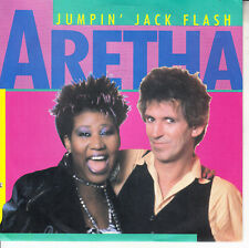 """ARETHA FRANKLIN  Jumpin' Jack Flash PICTURE SLEEVE 7"""" 45 rpm vinyl record NEW"""