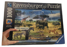 NEW Ravensburger Animals of Africa Jigsaw Puzzle Augmented Reality 1000pc German