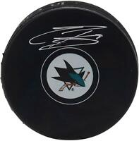 Evander Kane San Jose Sharks Signed Hockey Puck - Fanatics