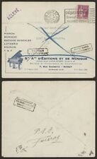 France 1936 - Illustrated Cover Nancy - Piano Music N744