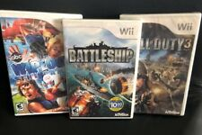 Wii ✔ CALL OF DUTY 3 & BATTLESHIP & WIPEOUT THE GAME BUNDLE ✔ BRAND NEW NIB NIP