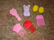 Hasbro My Little Pony G1 accessories brushes comb shoes