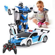 Spielzeug Transformer Auto Rennauto Roboter mit Fernbedienung Motor Wagen kinde