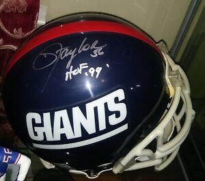 Lawrence Taylor Signed New York Giants Proline Full Size Helmet HOF SB Champ