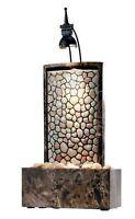 Zimmerbrunnen Wasserbrunnen Luftbefeuchter mit Pumpe und 5W Beleuchtung