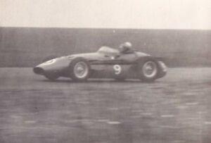 MASERATI CAR No.9, SILVERSTONE 14-JULY 1956 PHOTOGRAPH.
