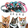 Cat Breakaway Collar with Safety Quick Release Buckle &Bell for Pet Puppy Kitten