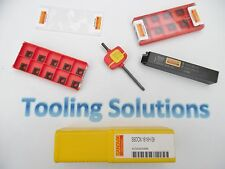 NEW SANDVIK CUTTING TOOL SSDCN & 10 INSERTS TURNING FACING PROFILING GROOVING