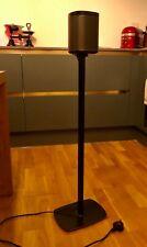 Flexson - 2 x Floor Stands for Sonos Play:1 - Black
