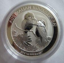 2013 Australian Kookaburra 1 oz .999 Silver Bullion Coin