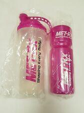 MET-RX PROTEIN CREATINE SHAKER MIXER BOTTLE & WATER BOTTLE - SHAKER