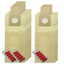15 x U-2E U20E Type Dust Bags for PANASONIC Vacuum Cleaner Hoover + Fresheners