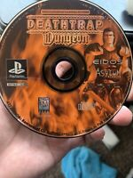 Deathtrap Dungeon (Sony PlayStation 1 PS1) - DISC ONLY