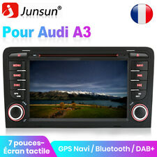 "Pour Audi A3 S3 RS3 8P 8V 8PA 7"" HD Autoradio DVD RDS CD Bluetooth DAB+ GPS Navi"