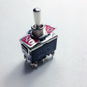 1piece 250V Momentary Switch Toggle DPDT ON-OFF-ON 15A 6-Pin Top Quality