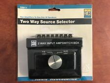 2 Way Source Selector Avico CDS11. Vintage