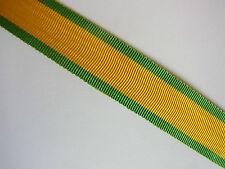 RUBAN POUR MINIATURE MÉDAILLE MILITAIRE 10 CM 14 mm NEUF ancien tissage