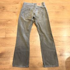 Levis 507 Cords Trousers Straight Fit Brown W29 L32