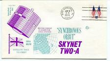 1974 Skynet Two-A Synchronous Orbit Satellite Delta Cape Canaveral USA SAT SPACE
