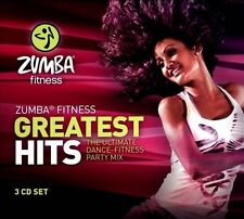 Zumba Fitness Greatest Hits CD Music Collection