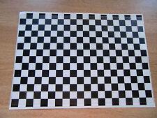 Checker Sheet - Black + White - Sticker bomb - A4 size