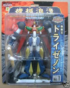 Robot Tri-Zenon By ROMANDO N°1 Boxed Figurine Die Cast