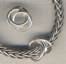Sterling silver Triple Spacer Beads for Charm Bracelet