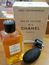 CHANEL N°5 VINTAGE PARFUM -125ml- EAU DE COLOGNE -60's-SEALED WITH VAPORISATEUR