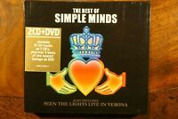 The Best Of Simple Minds - Seen The Lights Live In Verona  -  CD, VG