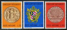 Vatican 484-486, MNH. Vatican Council, centenary, 1970