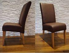 Braun Echtleder Stuhl Echt Leder Stühle Rindsleder Massivholz Esszimmer Stühle