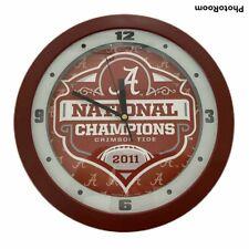 Camo SunTime NCAA Alabama Crimson Tide Wall Clock