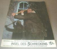 Aushangfoto Portrait Insel des Schreckens, Peter Cushing, Edward Judd