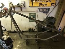 Chopper Frame To Suit Single Cylinder And Paralell Twins Hard Up Choppers