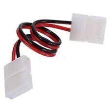 x5 Connecteurs pour Strip LED Camaïeu 8MM Double avec fil pour écrêter 0148