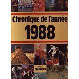 Jacques Legrand - Chronique de l'année 1988 - 2000 - Broché