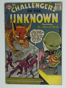 CHALLENGERS OF THE UNKNOWN #1 (3.0-3.5ish) KEY ISSUE 1ST APPEARANCE