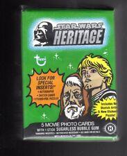 Star Wars Heritage complete  base set + WRAPPER