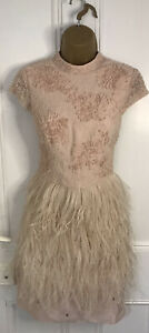 COAST Dress Size 10 Pink Wedding Cocktail Party Prom