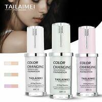 TLM Magic Color Changing Foundation Makeup Change Skin Tone Concealer