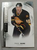 2015-16 Upper Deck Premier 264/299 Pavel Bure #49 HOF **Canucks**