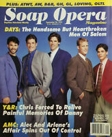 Soap Opera Magazine Sept 26 1995 Days: Handsom Heartbroken Men of Salem - Y&R