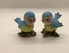 Vintage Anthropomorphic Norcrest Bluebird Salt And Pepper Shakers Japan